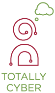 The Totally Cyber Logo
